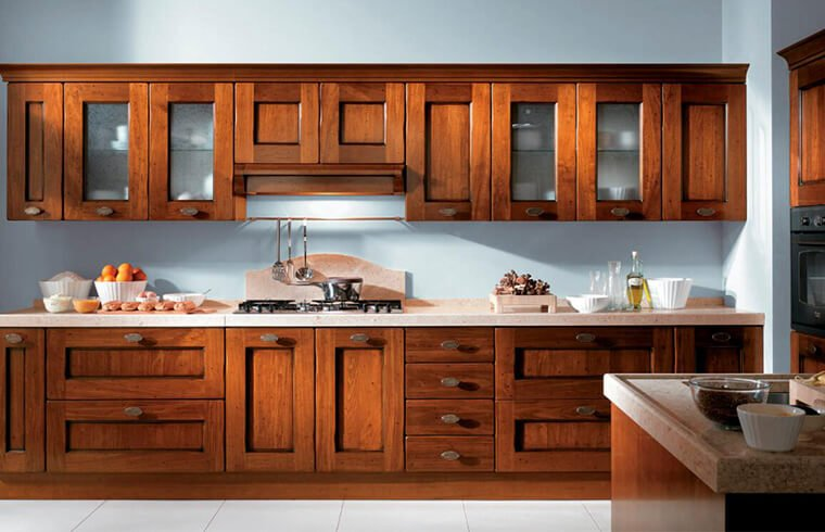 Luxury  Solid Wood Kitchen Cabinets